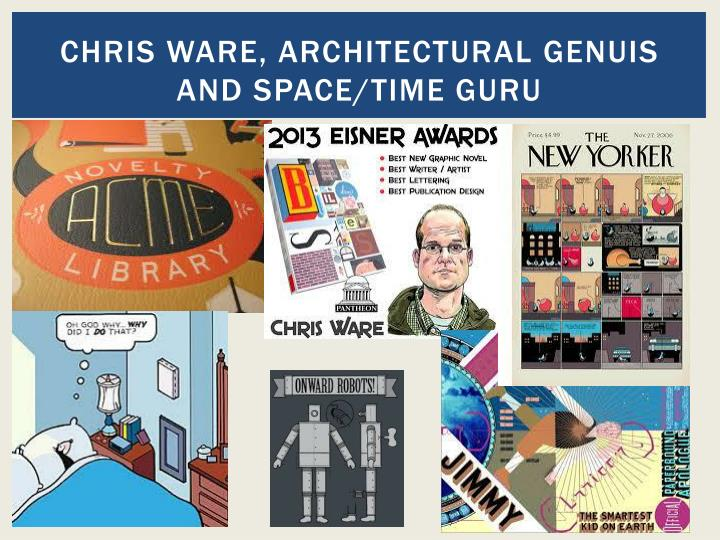 Chris ware, architectural