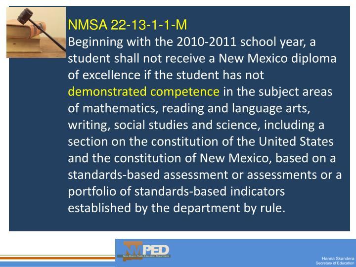 NMSA 22-13-1-1-M