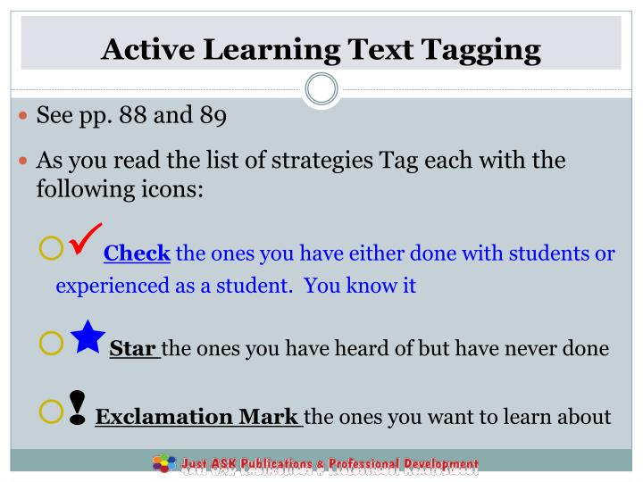Active Learning Text Tagging