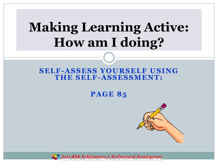 Making Learning Active: