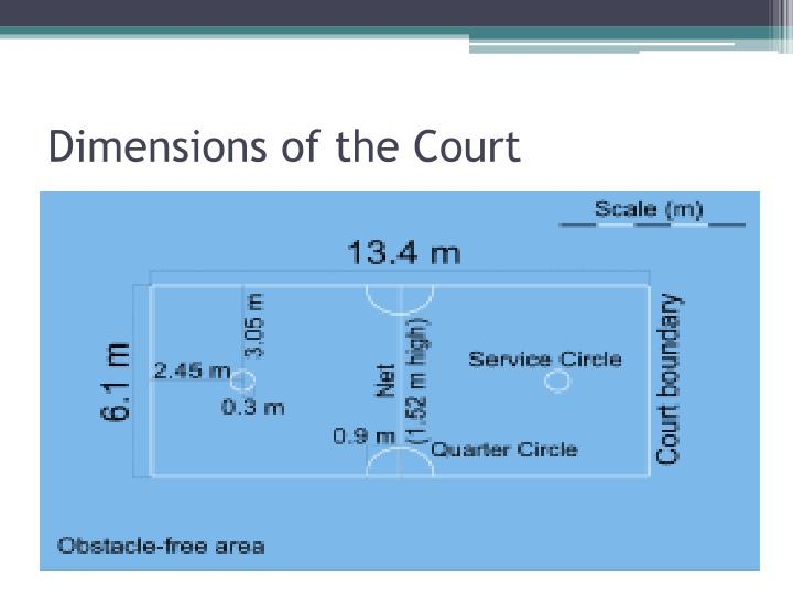 Dimensions of the Court
