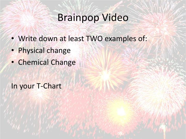 Brainpop Video