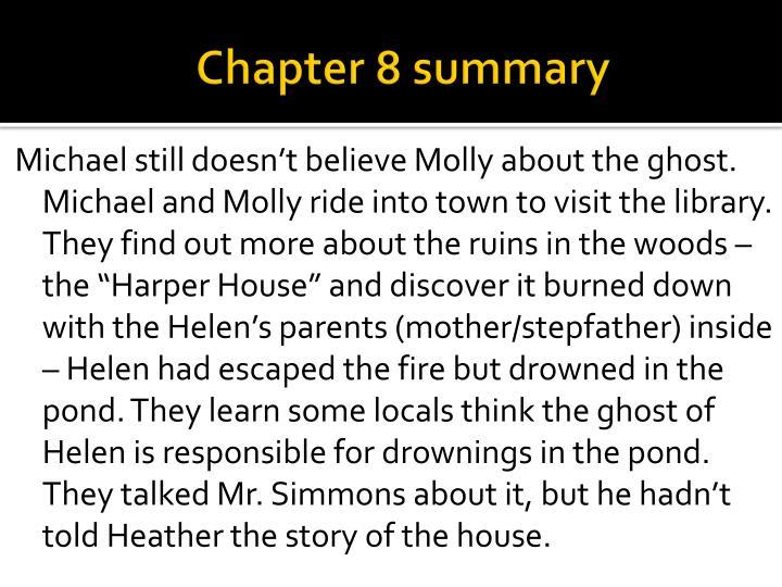 Chapter 8 summary