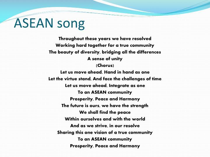 ASEAN song