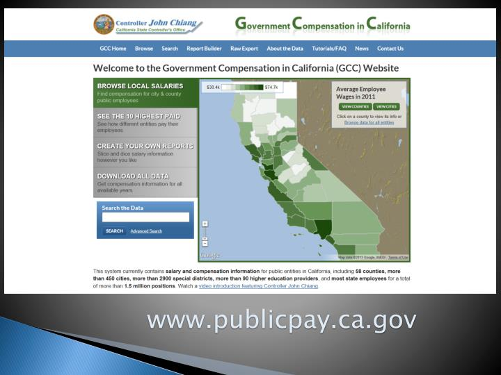 www.publicpay.ca.gov