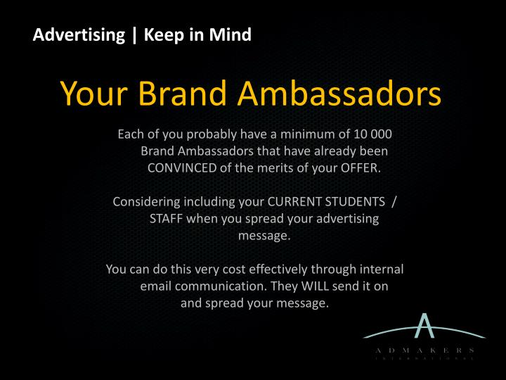 Advertising |