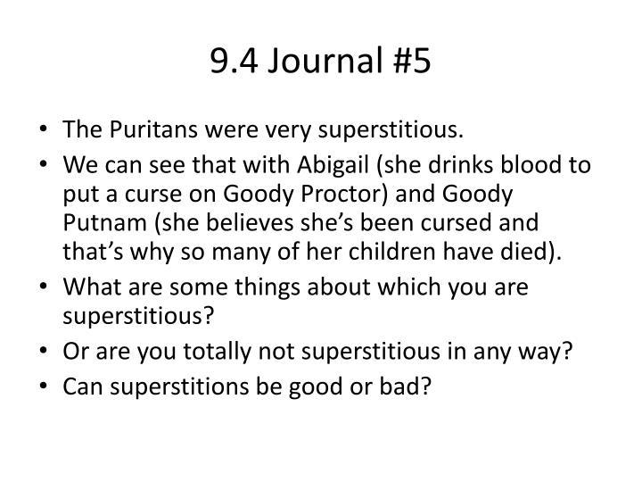 9.4 Journal #5