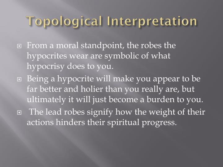 Topological Interpretation