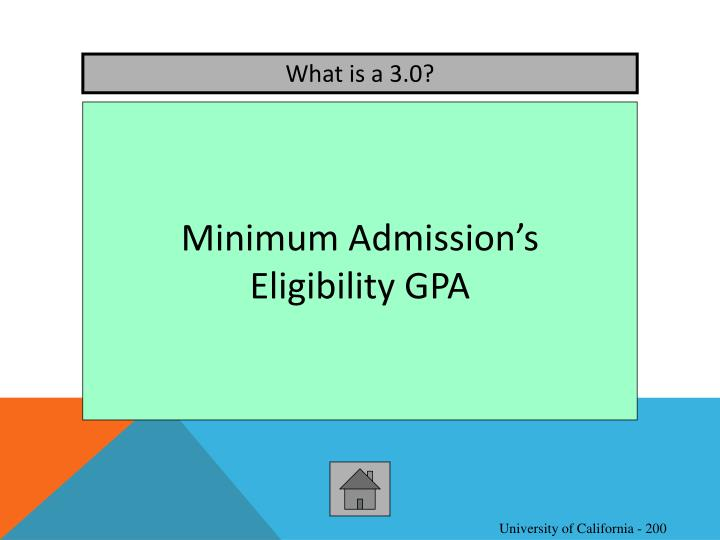 What is a 3.0?