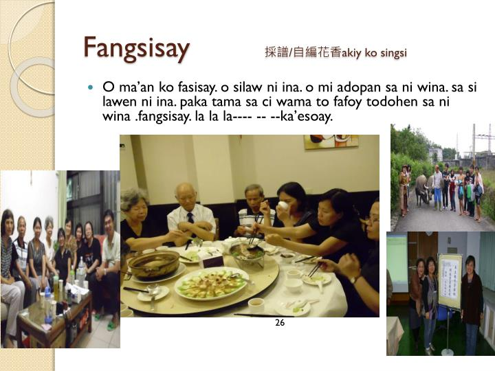 Fangsisay