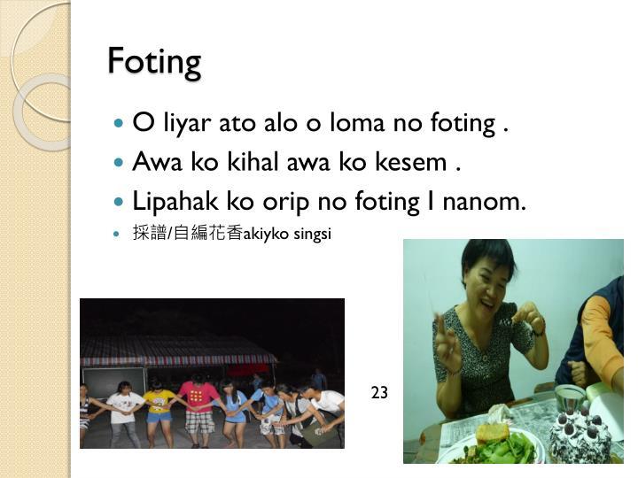 Foting