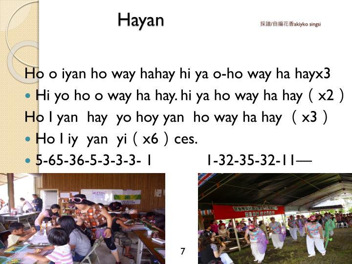 Hayan
