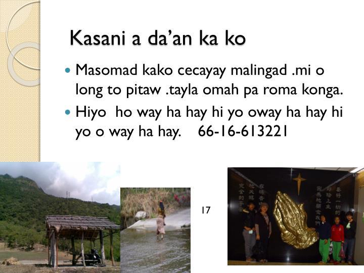 Kasani