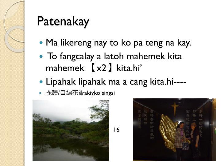 Patenakay