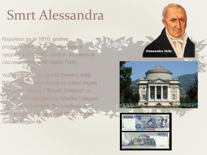 Smrt Alessandra