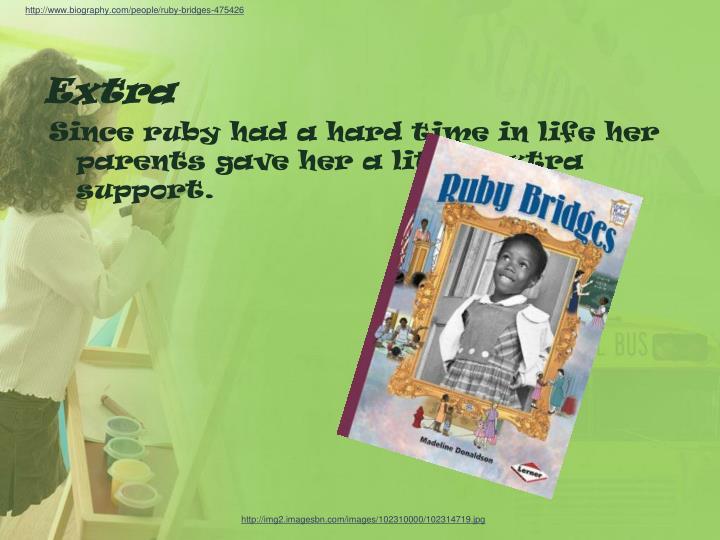 http://www.biography.com/people/ruby-bridges-475426