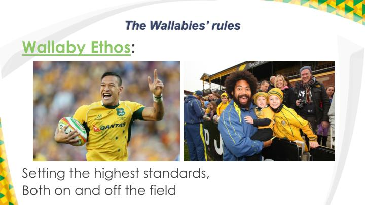The wallabies rules