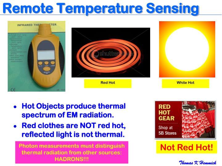 Remote Temperature Sensing