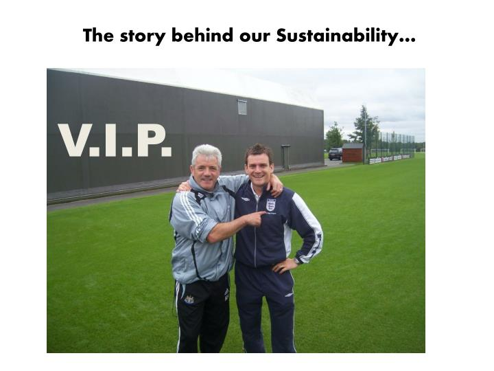 The story behind our Sustainability…