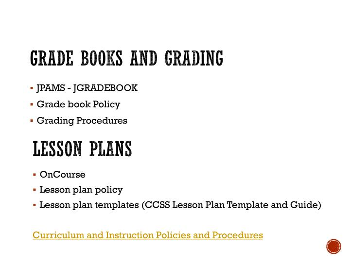 Grade books and grading