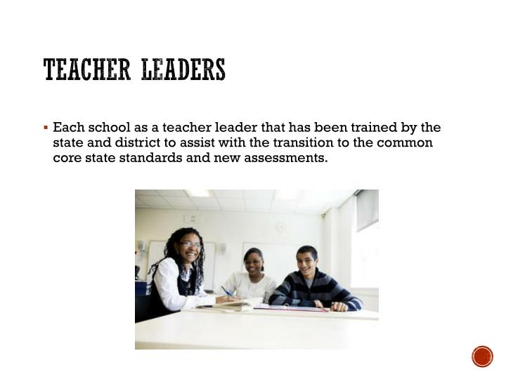 Teacher leaders