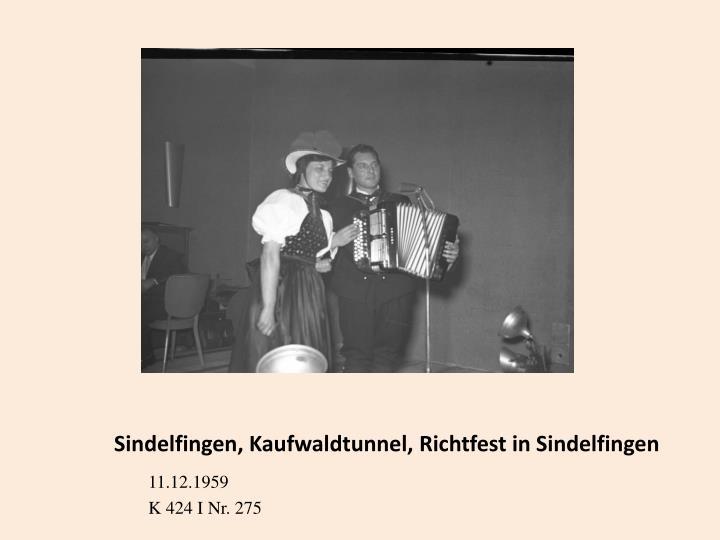 Sindelfingen, Kaufwaldtunnel, Richtfest in Sindelfingen