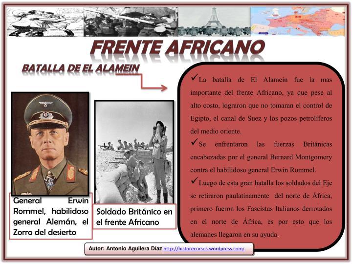 Frente africano