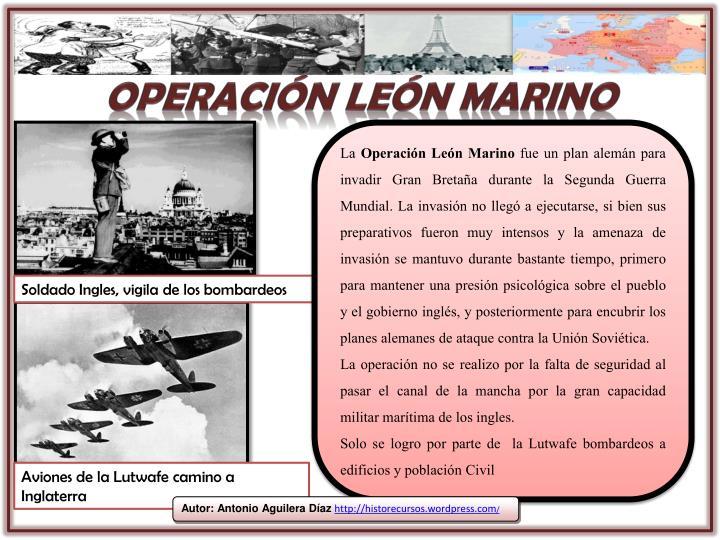 Operación león marino