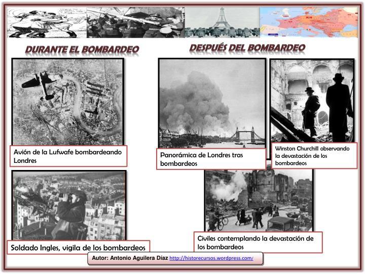 Después del bombardeo