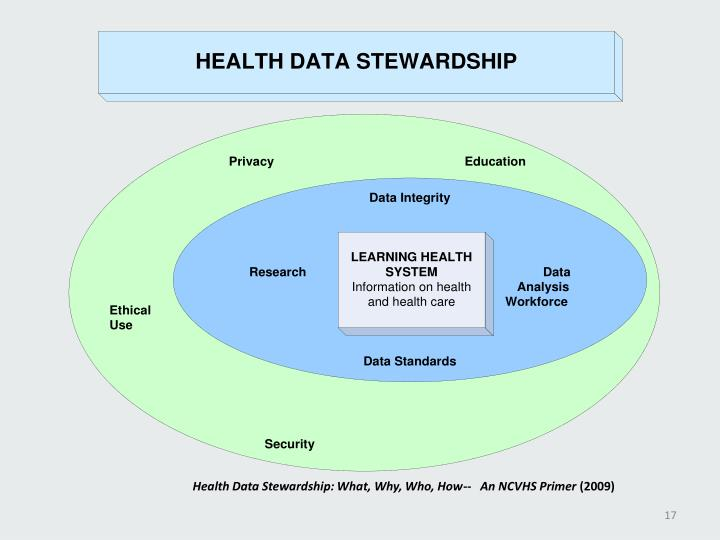 Health Data Stewardship: What, Why, Who, How--