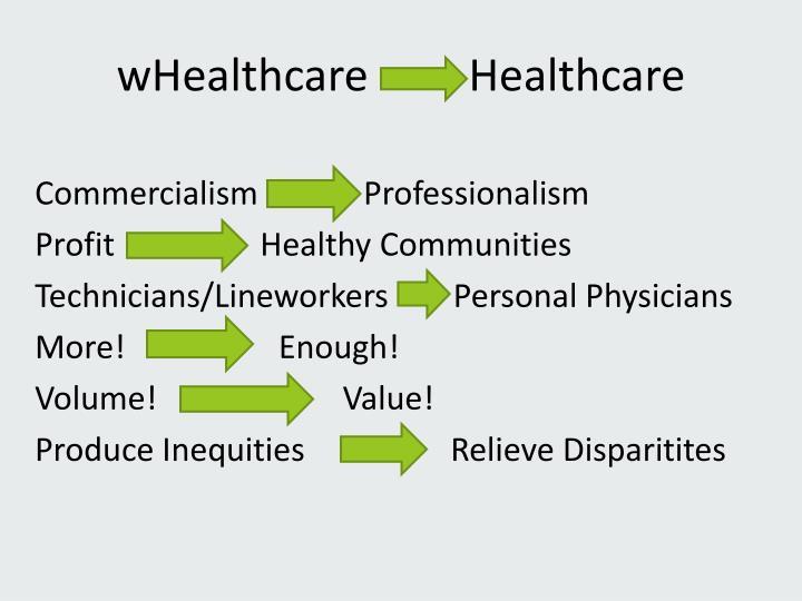 wHealthcare