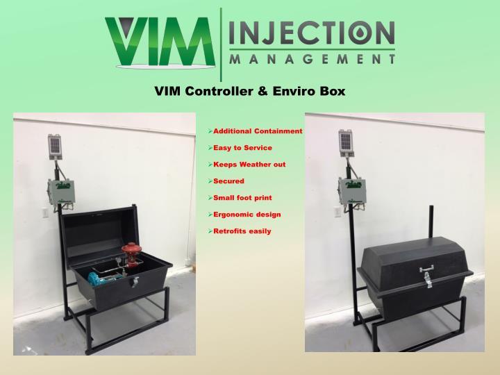 VIM Controller & Enviro Box