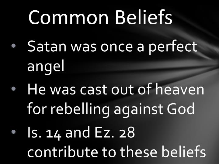 Common Beliefs