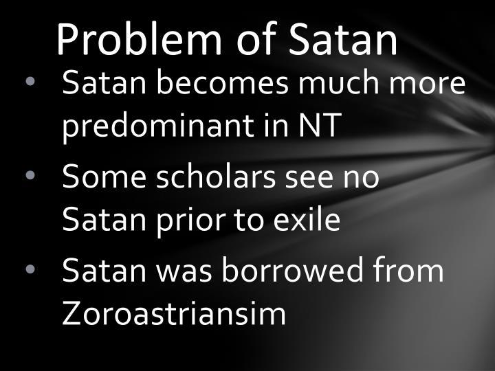 Problem of Satan
