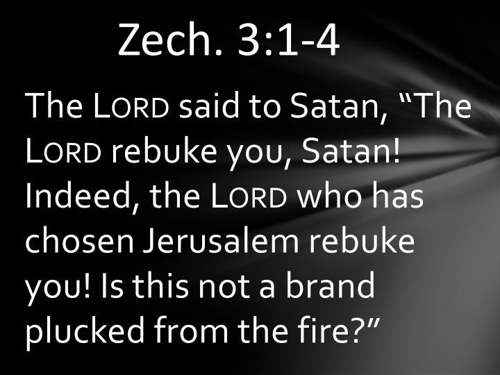 Zech. 3:1-4