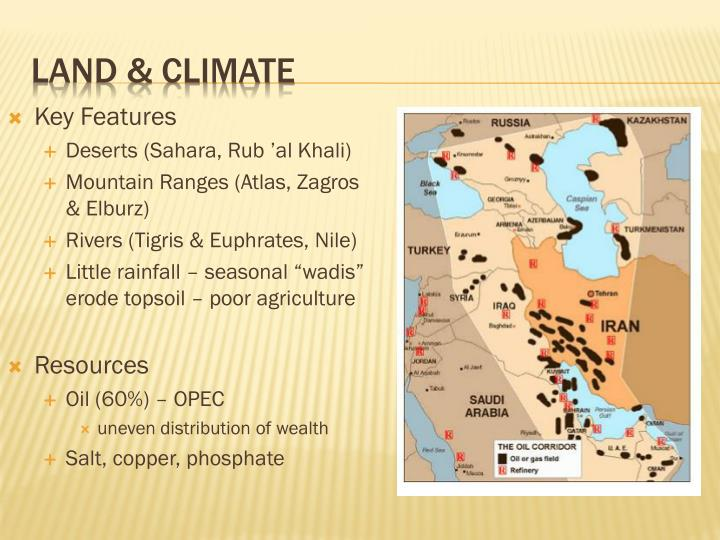 Land & Climate