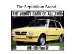 the republican brand