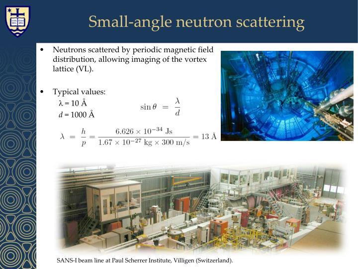 Small-angle neutron