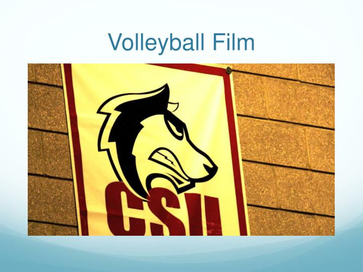 Volleyball Film
