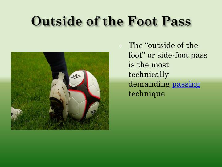 Outside of the Foot