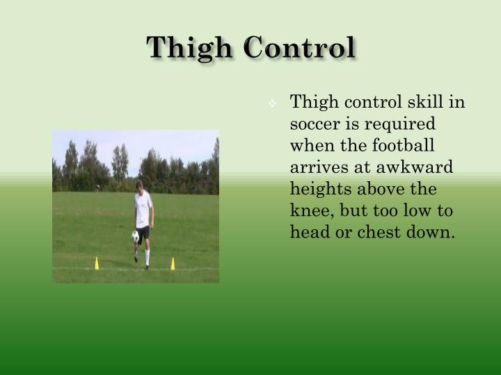 Thigh Control