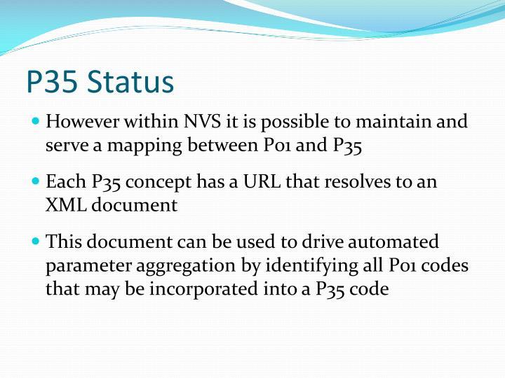 P35 Status