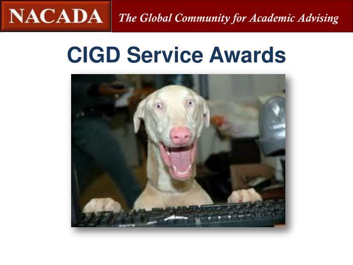 CIGD Service Awards