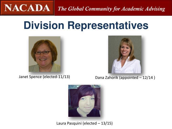 Division Representatives