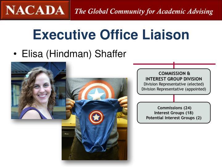 Executive Office Liaison