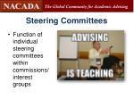 steering committees