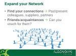 expand your network1