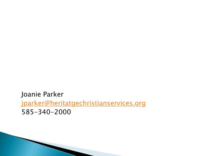 Joanie Parker