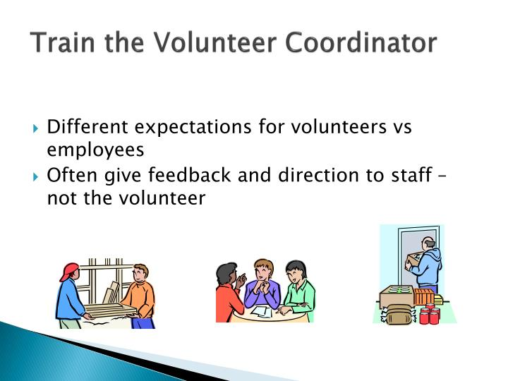 Train the Volunteer Coordinator