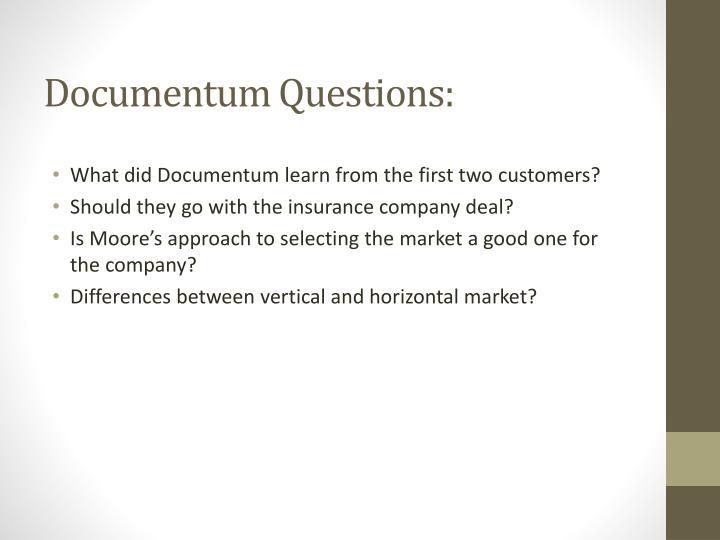 Documentum Questions: